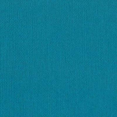 Cardstock texturé canvas - Coloris bleu canard