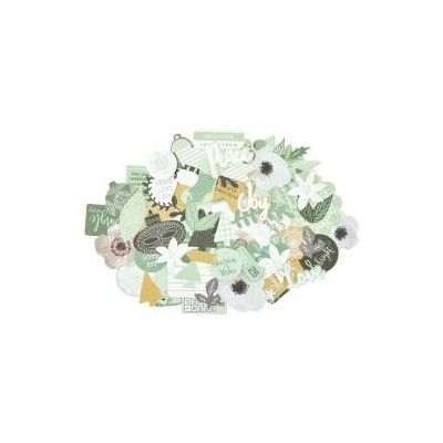Die Cuts - Collectables Kaisercraft - Mint Wishes