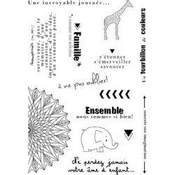 Tampons Mes p'tits ciseaux - Ensemble