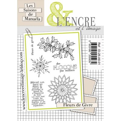 Tampons L'Encre & l'Image - Les saisons de Manuéla - Fleur de givre