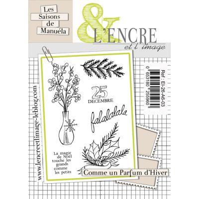 Tampons L'Encre & l'Image - Les saisons de Manuéla - Comme un parfum d'hiver