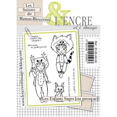 Tampons L'Encre & l'Image - Les saisons de Manon-Bleuzenn - Les enfants sages ou presque