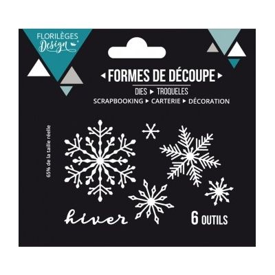 Dies Sweety Cuts - Hiver floconné