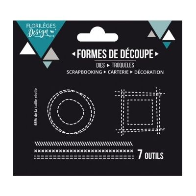 Dies Sweety Cuts - Effets de couture