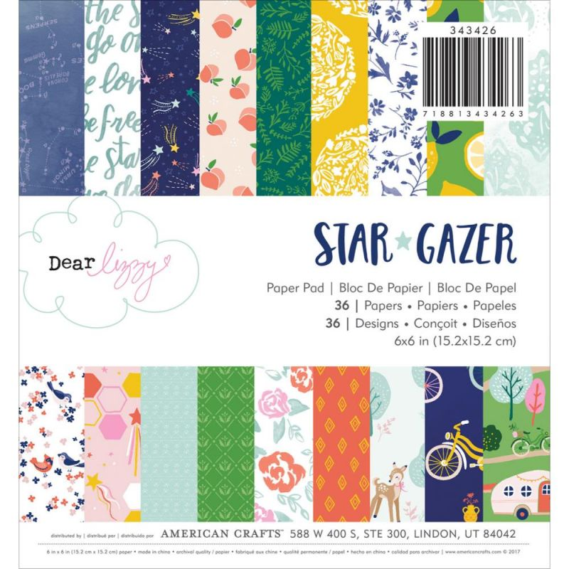 Mini Pack 15x15 - American Crafts - Dear Lizzy - Star Gazer