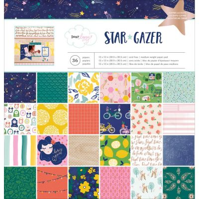 Pack 30x30 - American Crafts - Dear Lizzy- Star Gazer