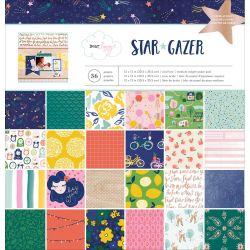 Pack 30x30 - American Crafts - Dear Lizzy- Star Gazer
