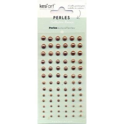 Demi-perles nacrées KesiArt - Cuivre