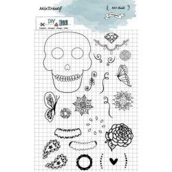 Tampons DIY&Cie - Skull