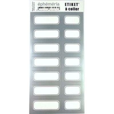 Stickers Ephemeria - Argent