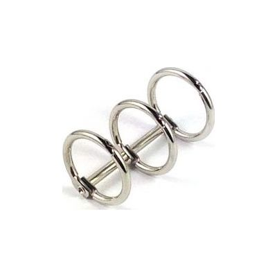 Mécanisme de classeur 2 anneaux ronds - 15 mm (Petit Modèle)
