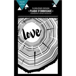 Plaques d'embossage - De bois et d'amour
