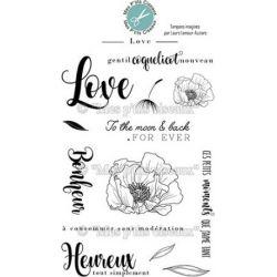 Tampons Mes p'tits ciseaux - Love