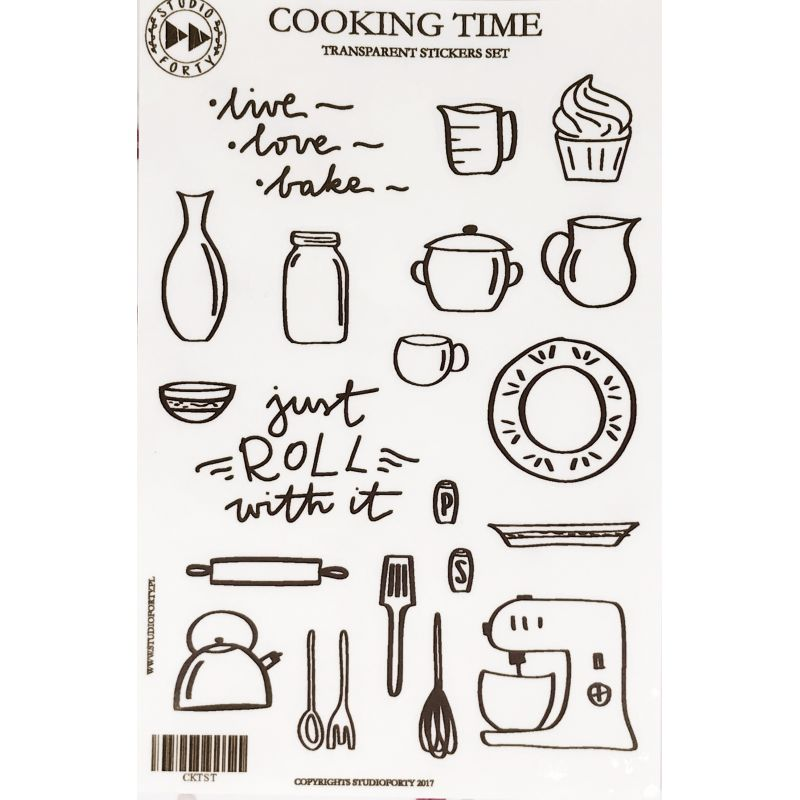 Stickers Studio Forty - Cooking Time