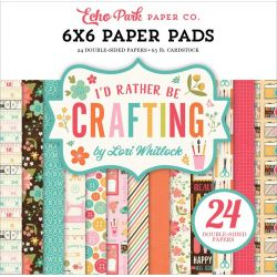 Mini Pack 15x15 - Echo Park - I'D rather be crafting