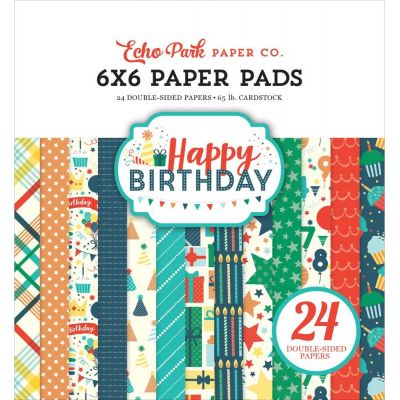 Mini Pack 15x15 - Echo Park - Happy Birthday Boy