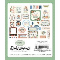 Die-cuts Ephemera Flora