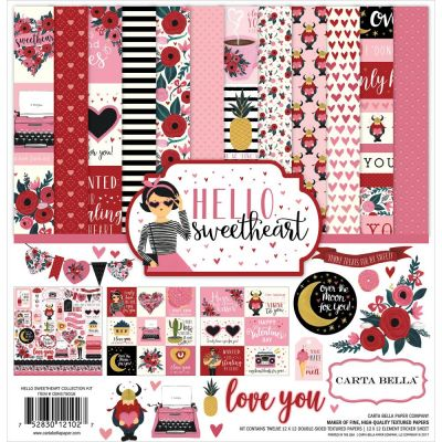 Pack 30x30 - Carta Bella - Hello Sweatheart