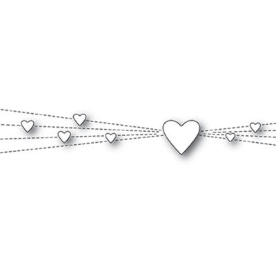 Die Memory Box - Heart Rays