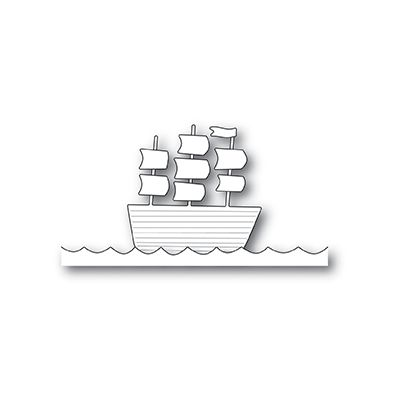 Die Poppystamps - Tall Ship