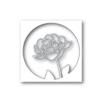 Die Poppystamps - Rose Stem Collage