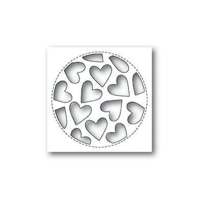 Die Poppystamps - Tumbled Heart Collage