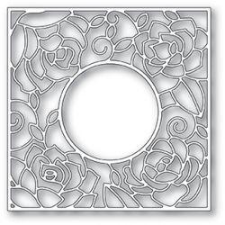 Die Poppystamps - Rose Frame