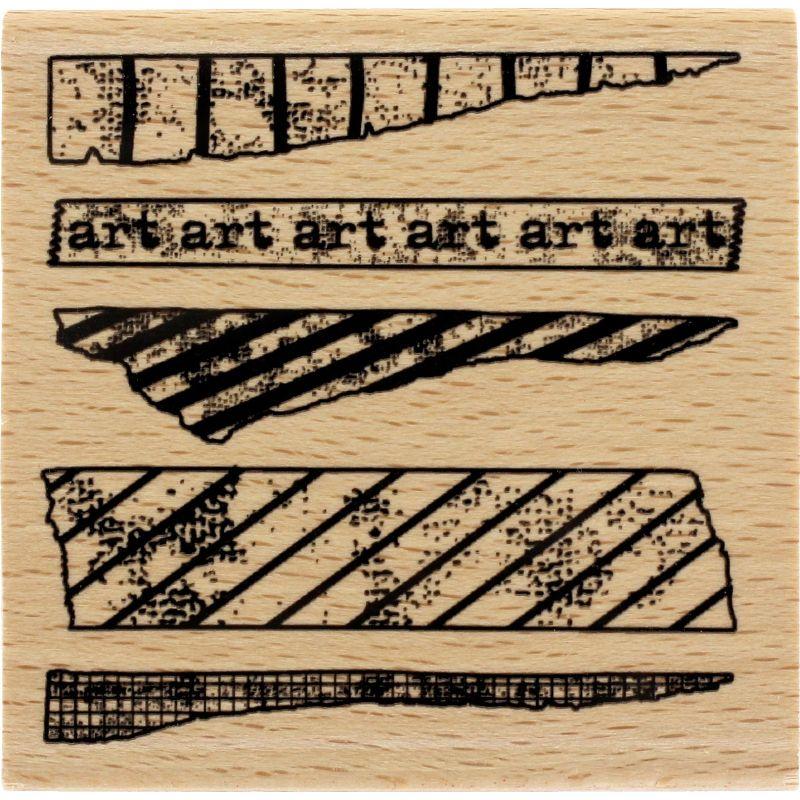 Tampon bois Florilèges - Art Tape