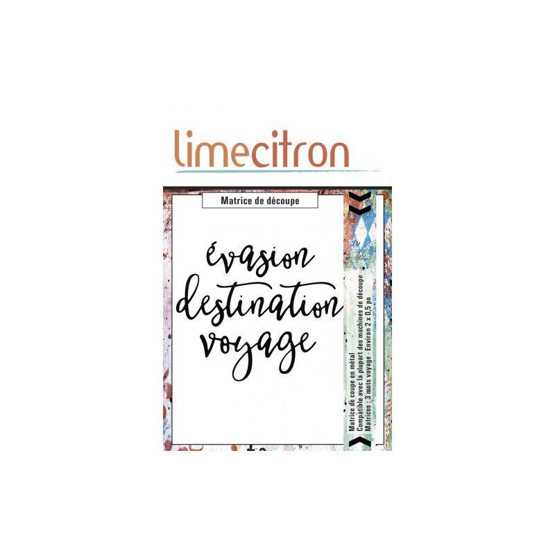 Dies Lime Citron - 3 mots voyage