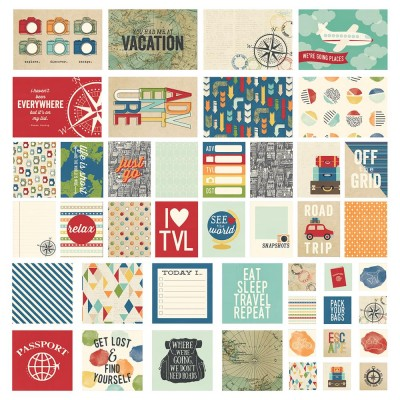 Cartes Simple Stories - Travel Notes