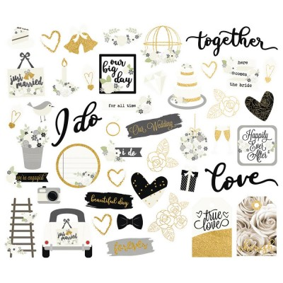 Die Cuts - Bits & Pieces - Always & Forever