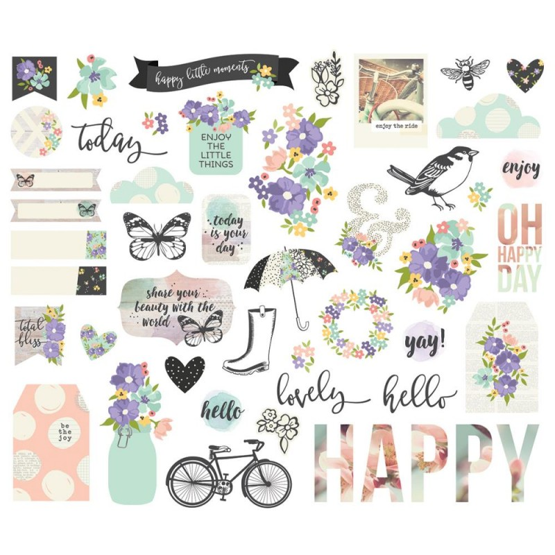 Die Cuts - Bits & Pieces - Bliss
