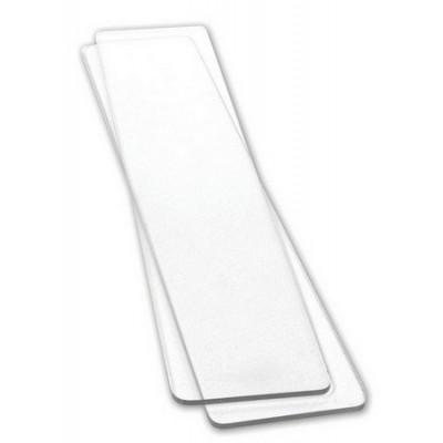 Plaques longues fines transparentes Sizzix (x2)
