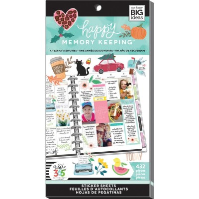 Pack de stickers Create 365 - A Year of Memories (30 feuilles)