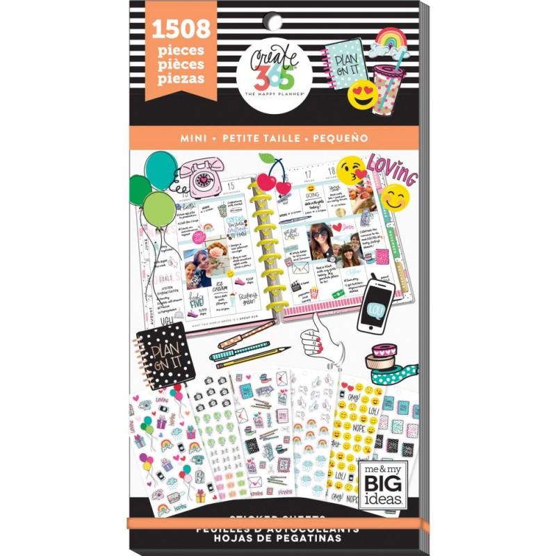 Pack de stickers Create 365 - Tiny (30 feuilles)