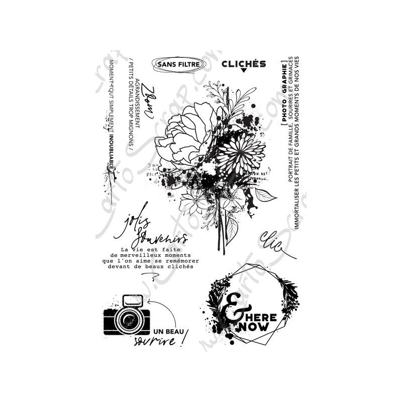 Tampons CartoScrap - Grungetastic