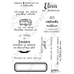 Tampons CartoScrap - Le Temps des Vacances