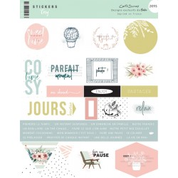 Stickers Cartoscrap - Cosy