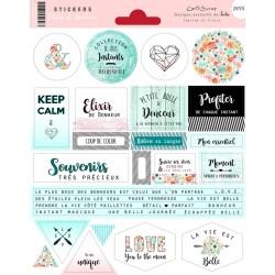 Stickers Cartoscrap - Elixir de Bonheur
