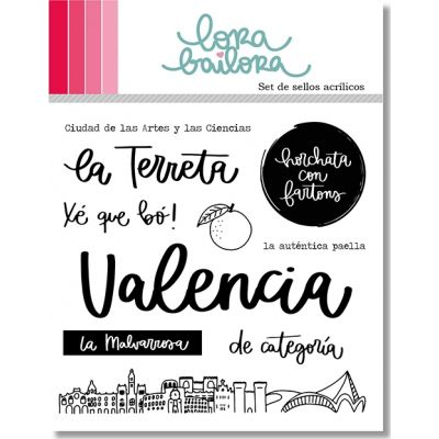 Tampons clear Lora Bailora - Valencia