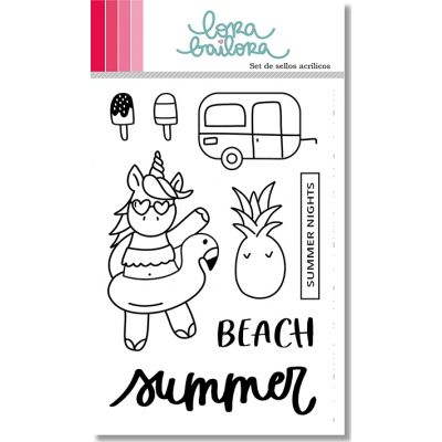 Tampons clear Lora Bailora - Summer