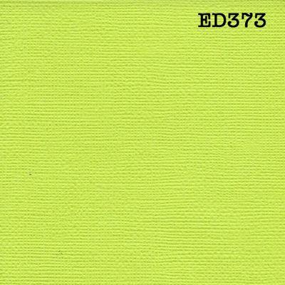 Cardstock texturé canvas - Coloris Vert anis