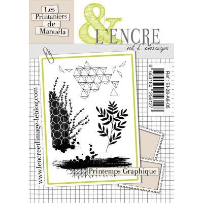 Tampons L'Encre & l'Image - Les Printaniers de Manuela - Printemps Graphique