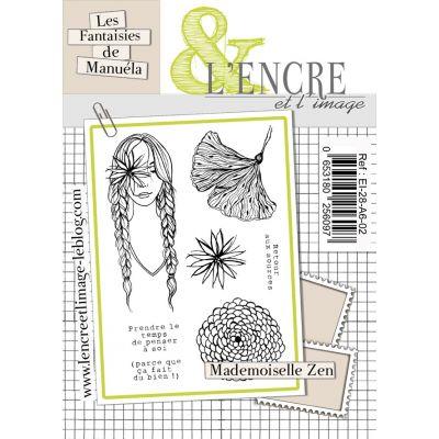 Tampons L'Encre & l'Image - Les Printaniers de Manuela - Mademoiselle Zen