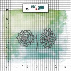 Dies DIY&Cie - Col.11 - Duo Bucolique