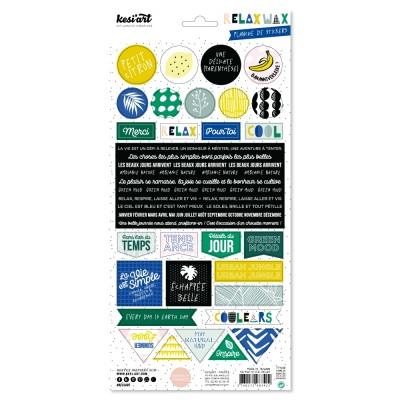 Stickers Kesi'Art - Relax Wax