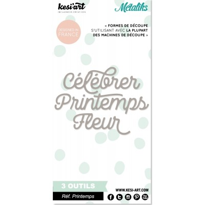 Dies MetaliKs - Mini - Printemps