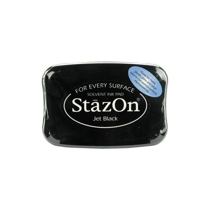 Encreur Stazon Jet Black