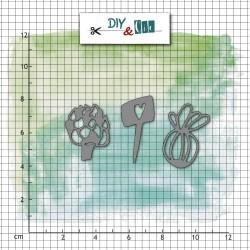 Dies DIY&Cie - Col.11 - Au jardin