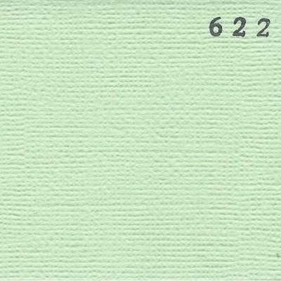 Cardstock texturé canvas - Coloris Vert Céladon